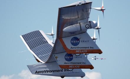 Solar Powered Aeroplane